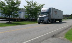 Rist transport truck